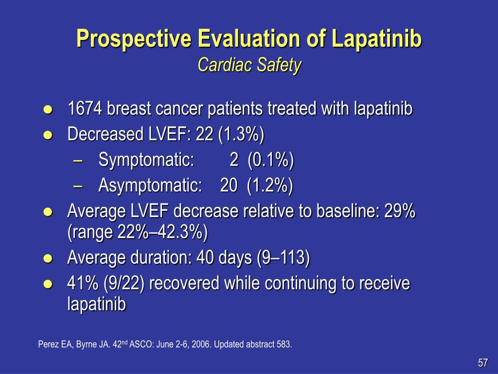 Prospective Evaluation of Lapatinib