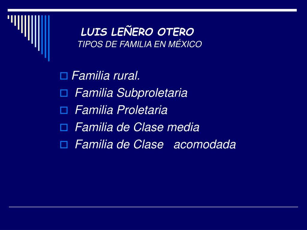 LUIS LEÑERO OTERO