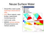 neuse surface water