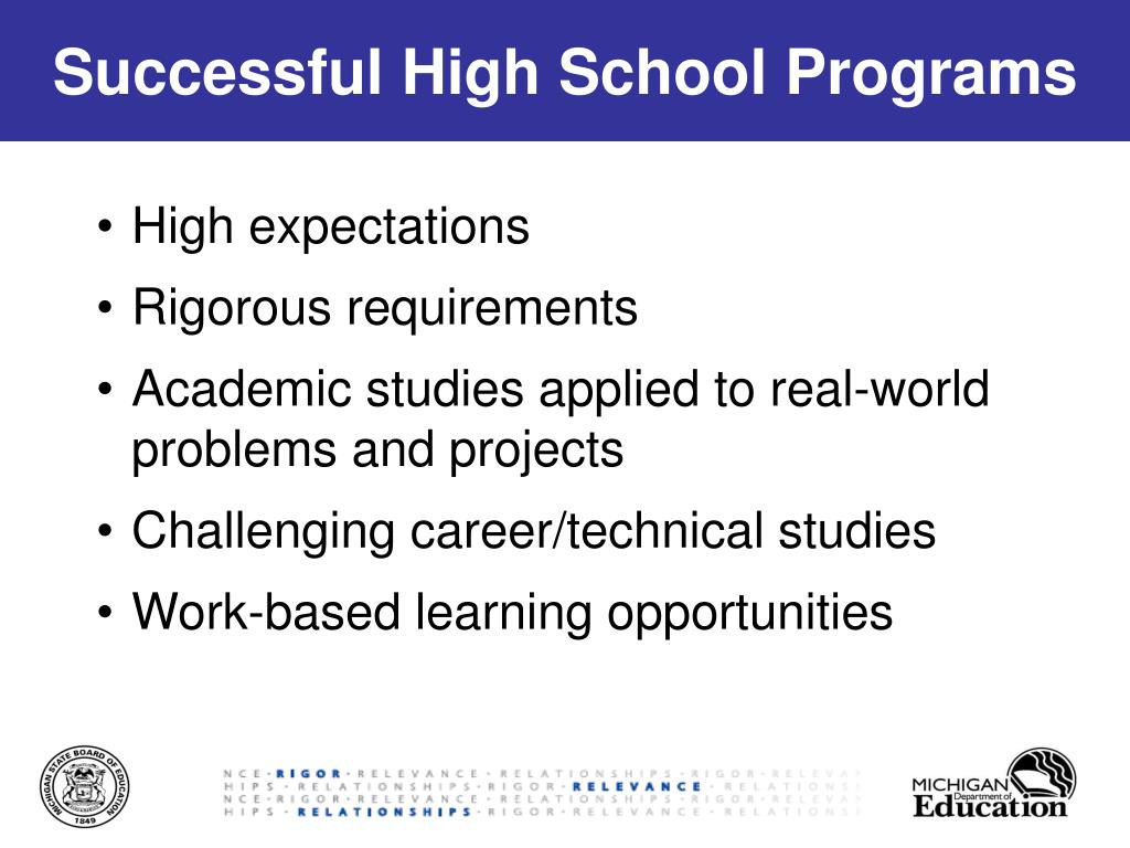 high school expectations The relationships among high school stem learning experiences, expectations,  and mathematics and science efficacy and the likelihood of majoring in stem in .