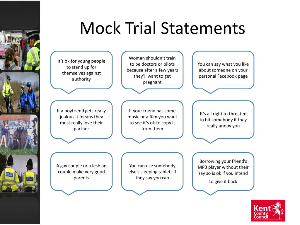Mock Trial Statements