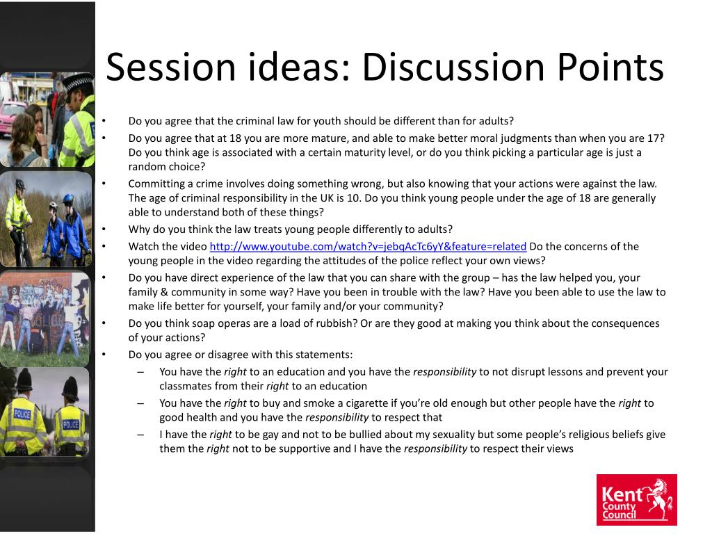 Session ideas: Discussion Points