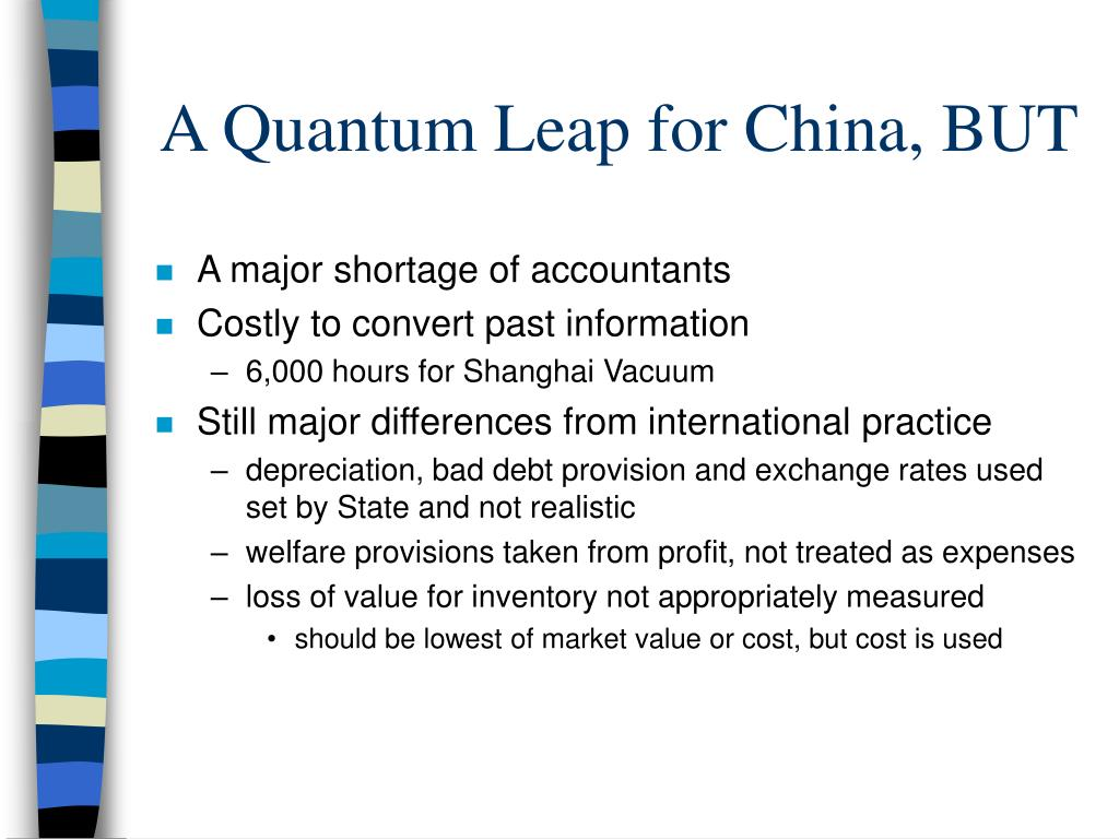 A Quantum Leap for China, BUT