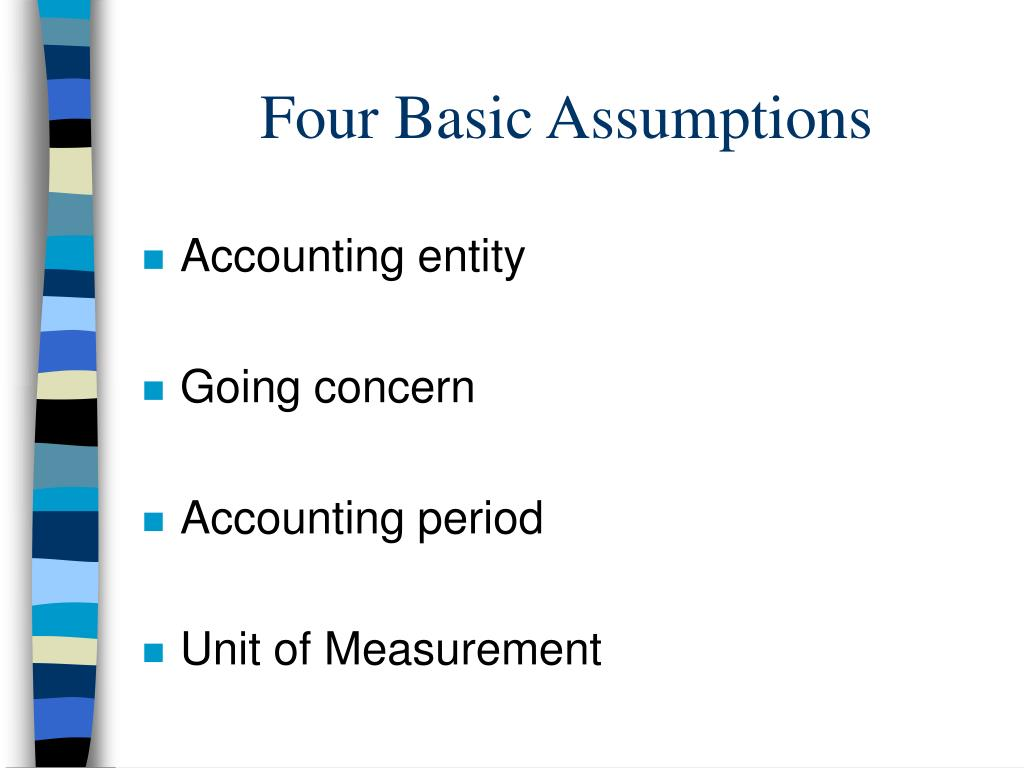 Four Basic Assumptions