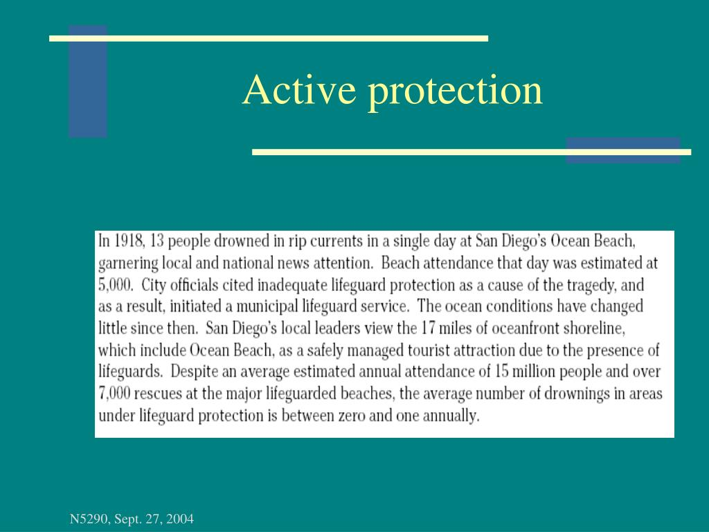 Active protection