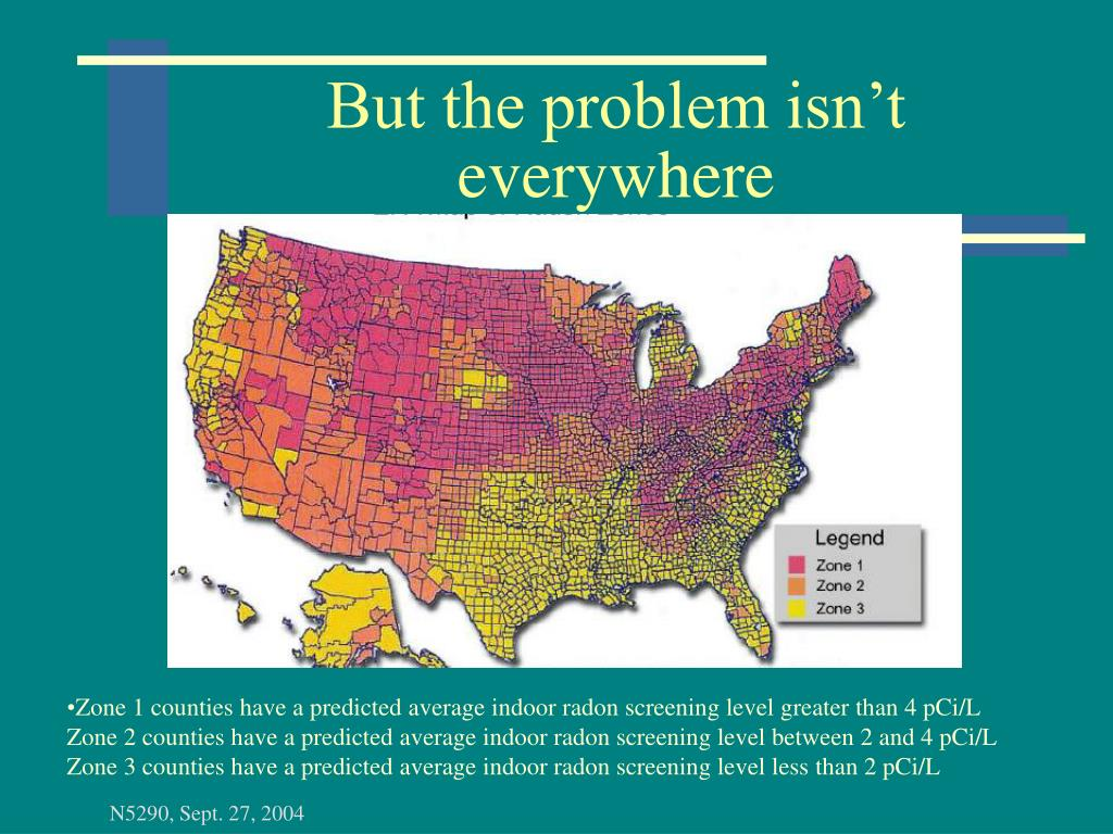 But the problem isn't everywhere
