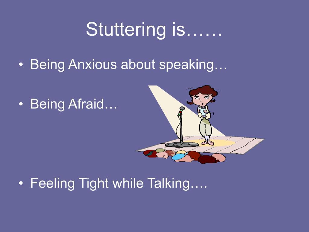 Stuttering is……