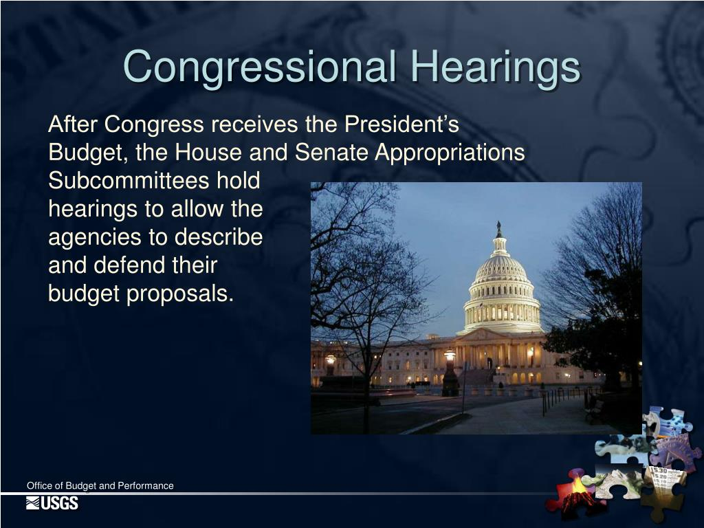 Congressional Hearings