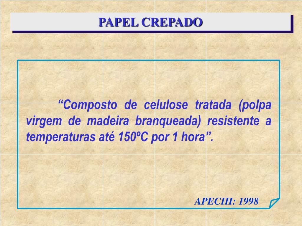 PAPEL CREPADO