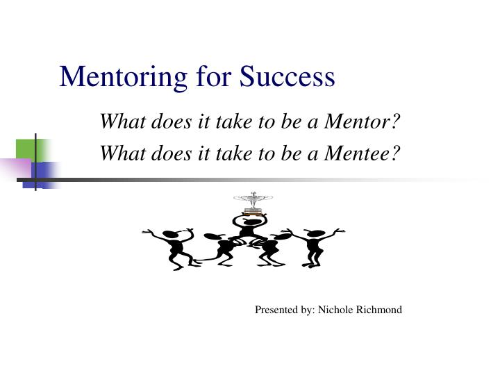Mentoring for success