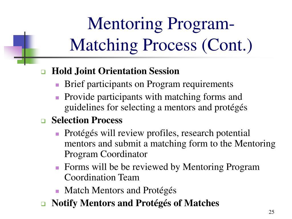 Mentoring Program-