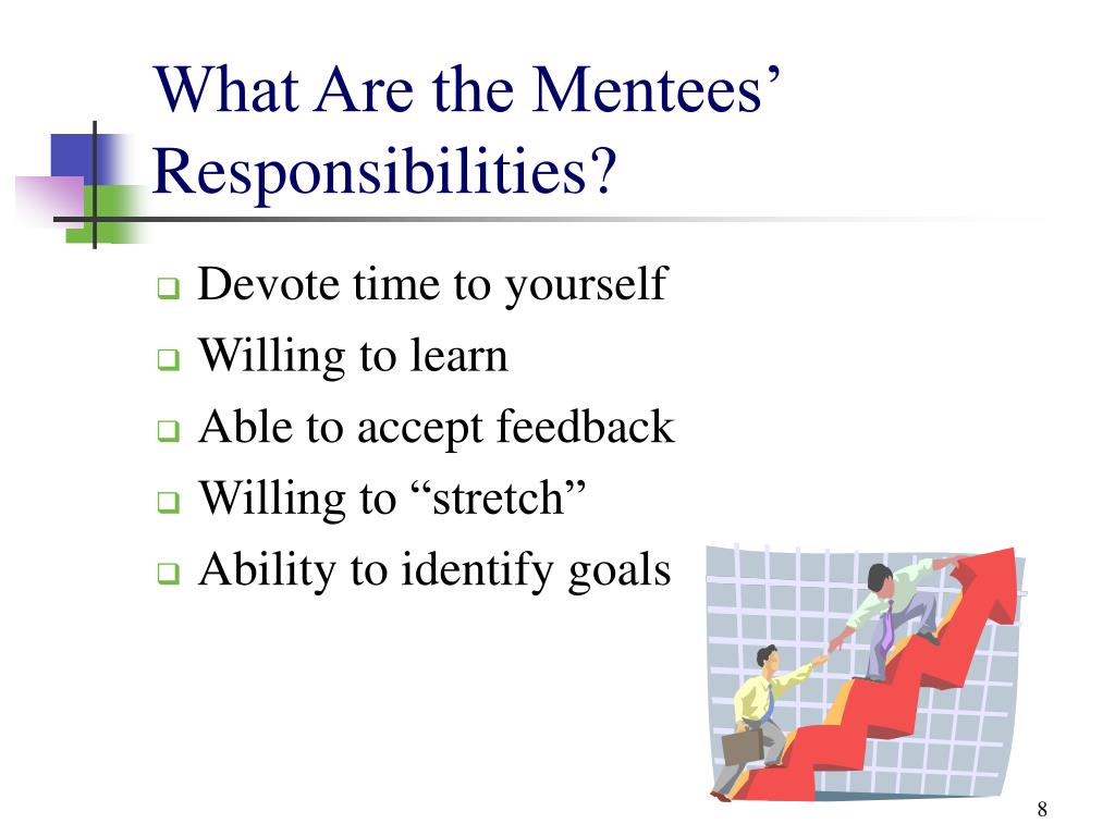 What Are the Mentees' Responsibilities?