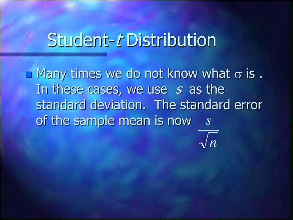 Student-