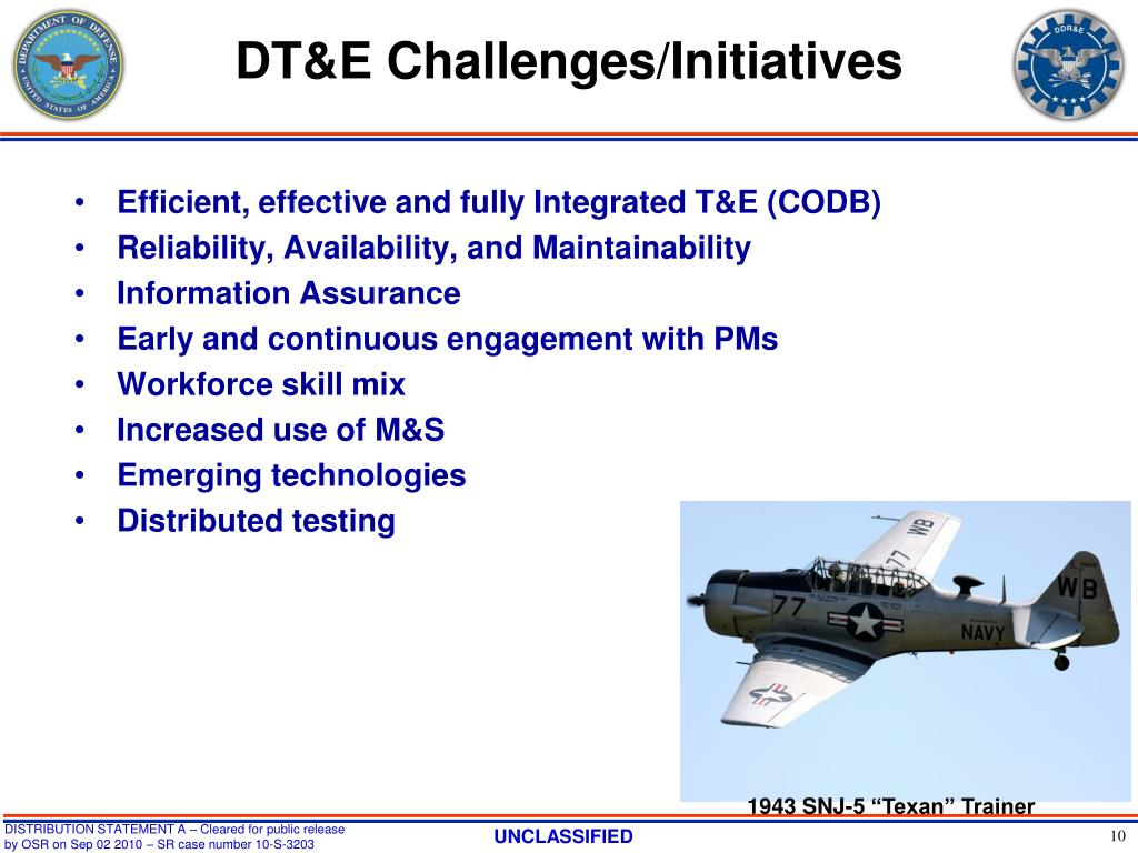 DT&E Challenges/Initiatives