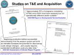 studies on t e and acquisition
