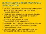 interacciones medicamentosas introducci n3