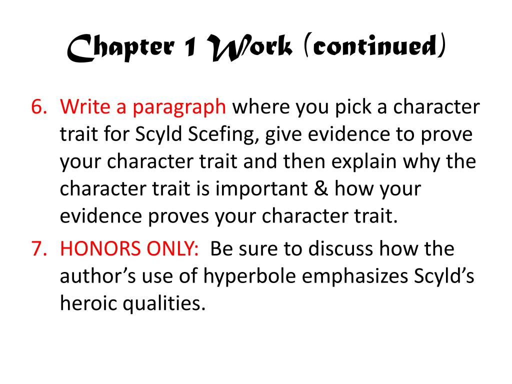 Chapter 1 Work (continued)