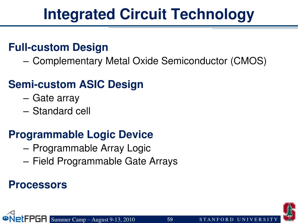 Integrated Circuit Technology