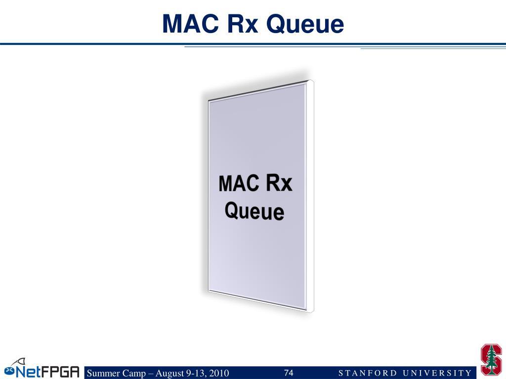 MAC Rx Queue
