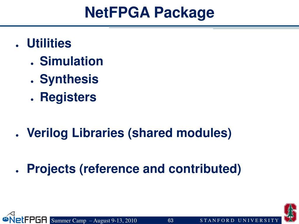 NetFPGA Package