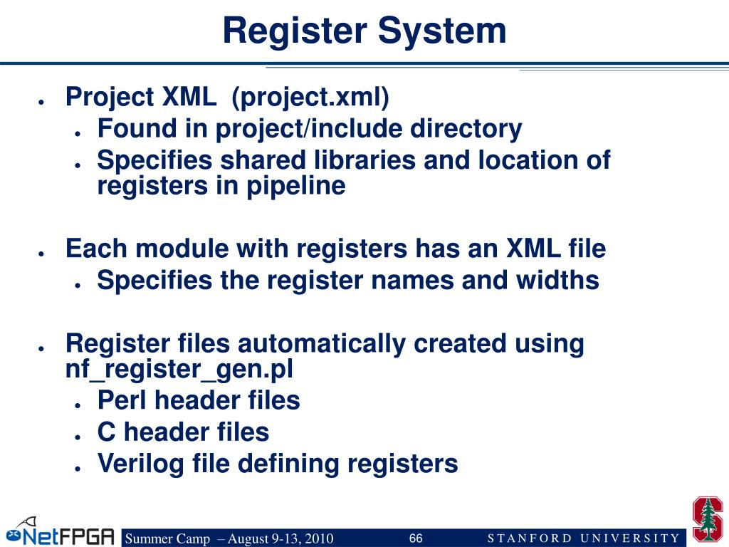 Register System