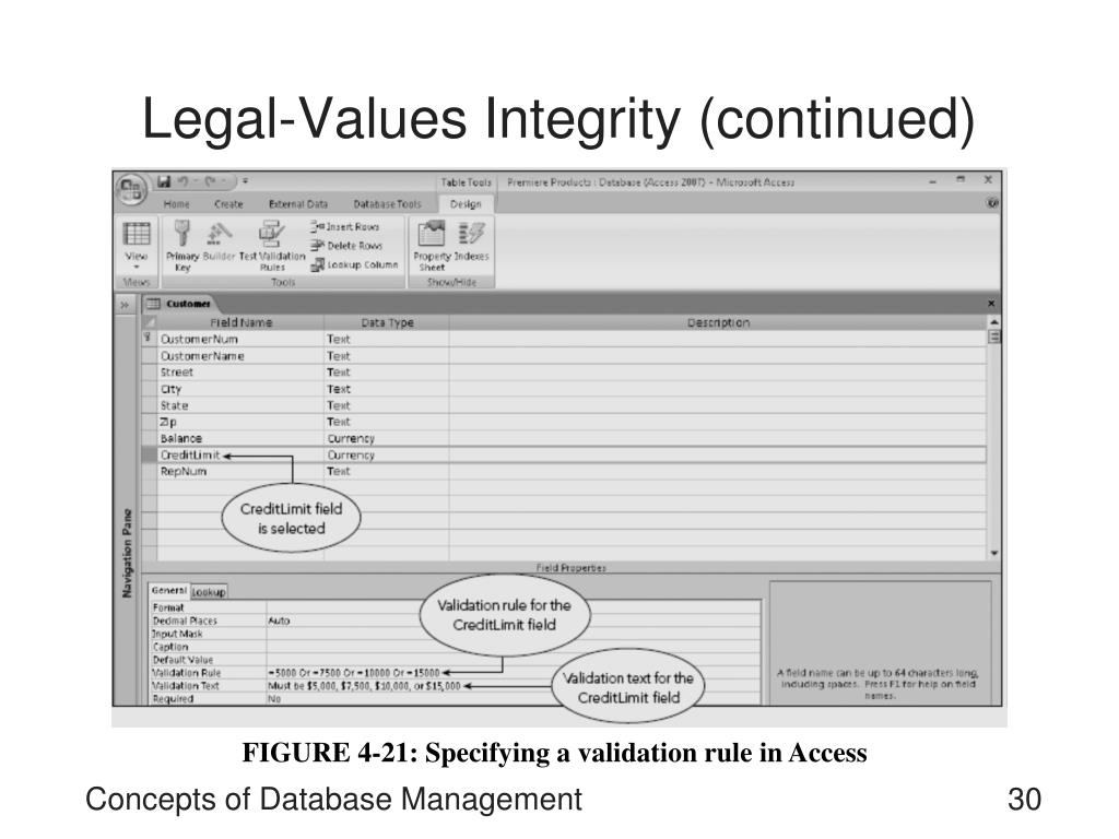 Legal-Values Integrity (continued)