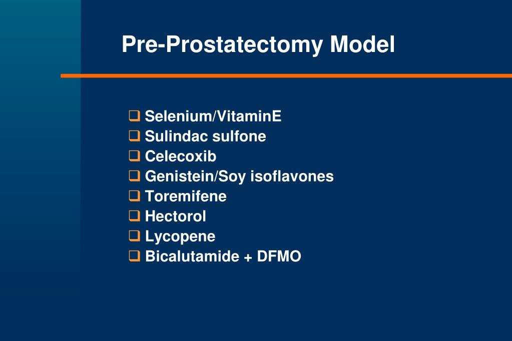 Pre-Prostatectomy Model