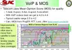 voip mos