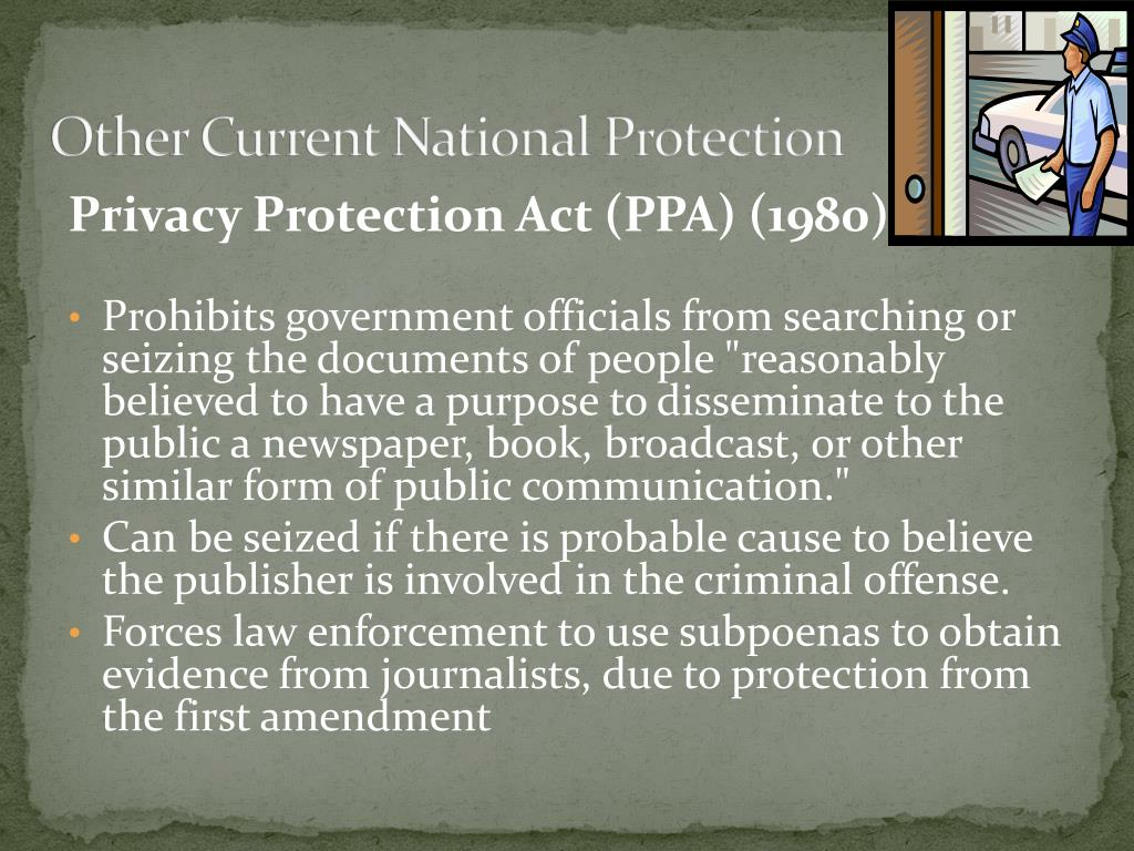 Other Current National Protection