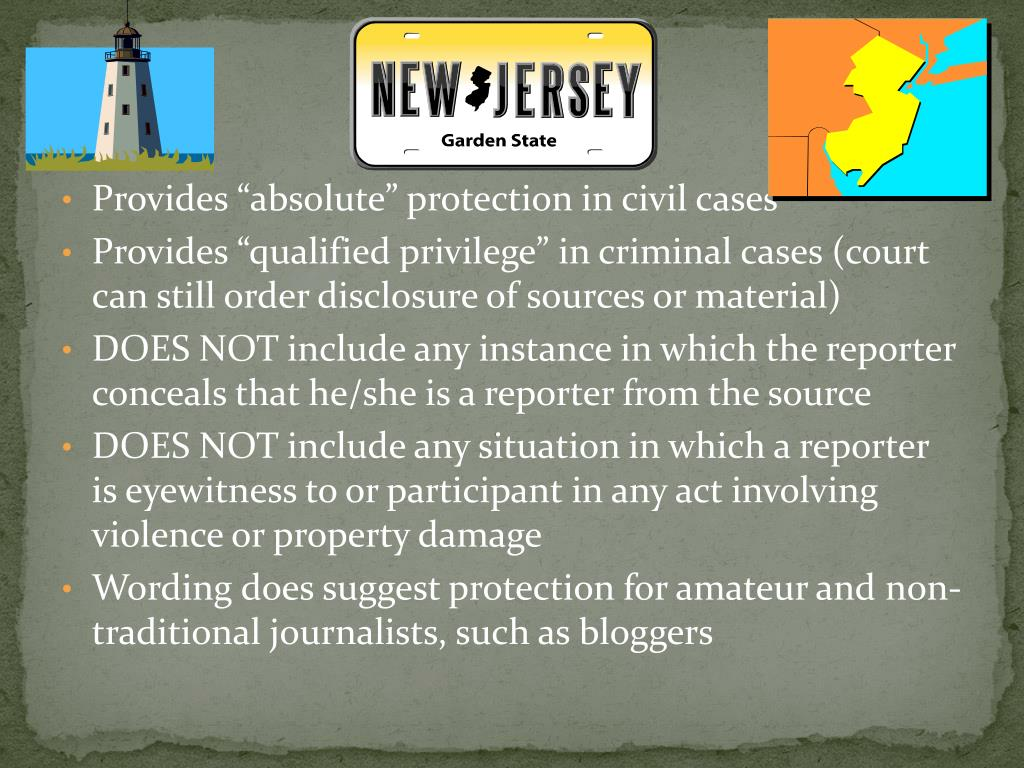 "Provides ""absolute"" protection in civil cases"