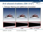 anti aliased shadows sm 512 2