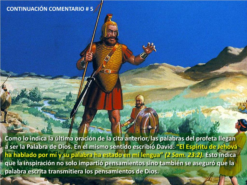 CONTINUACIÓN COMENTARIO # 5