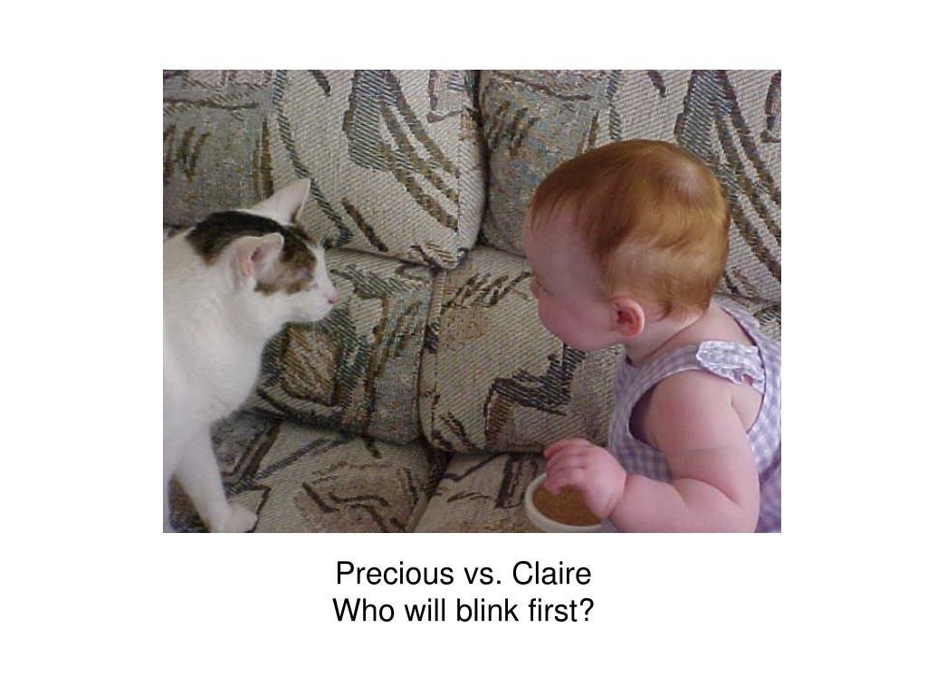 Precious vs. Claire