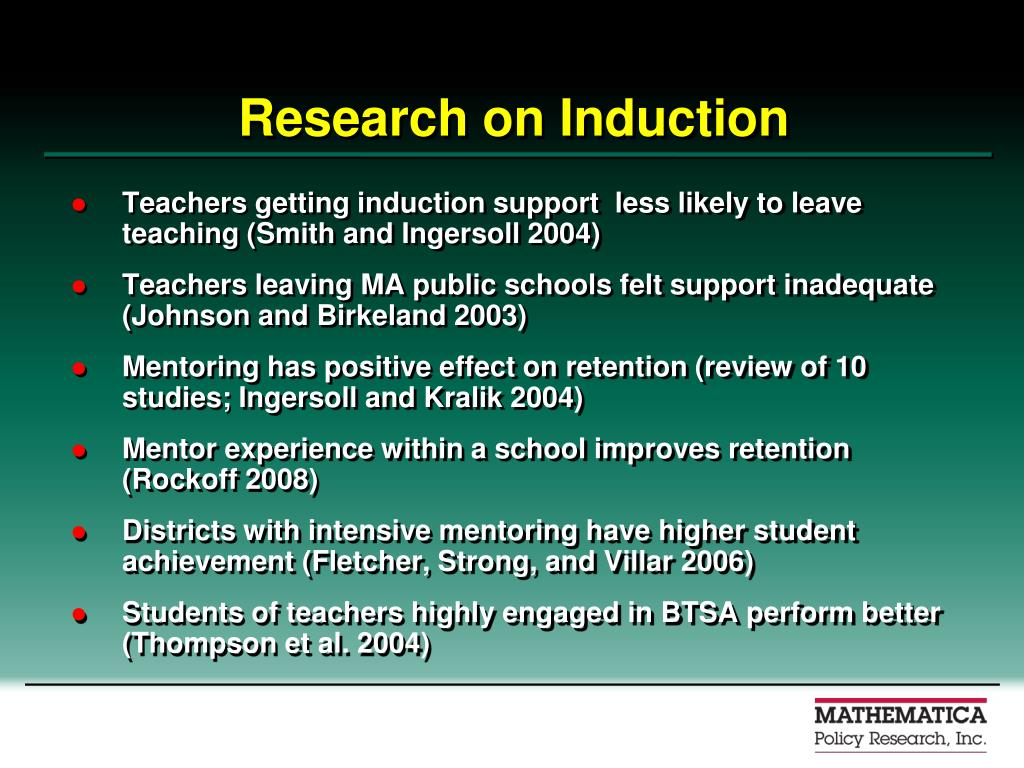 Research on Induction
