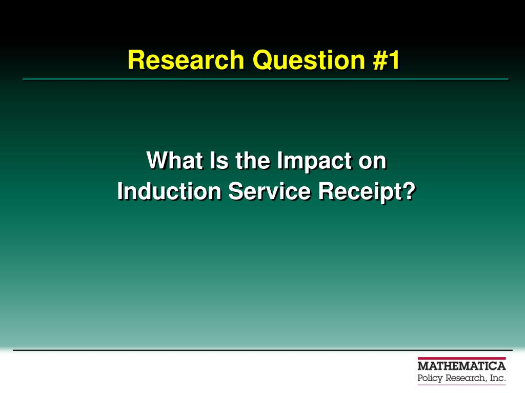 Research Question #1