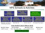 nps schools activities