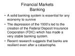 financial markets banking43