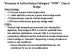 processes to further reduce pathogens pfrp class a sludge33