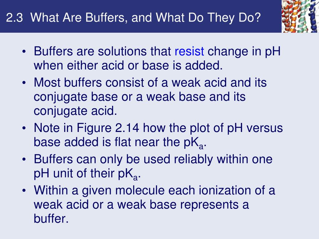 2.3  What Are Buffers, and What Do They Do?