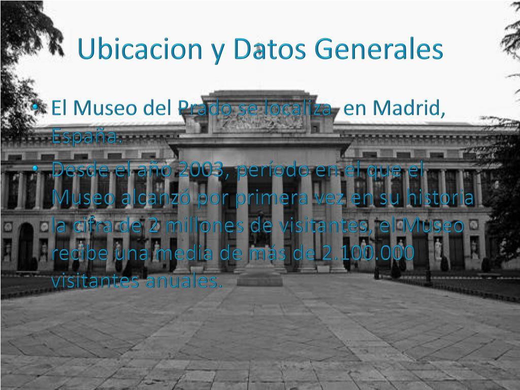 Ubicacion y Datos Generales