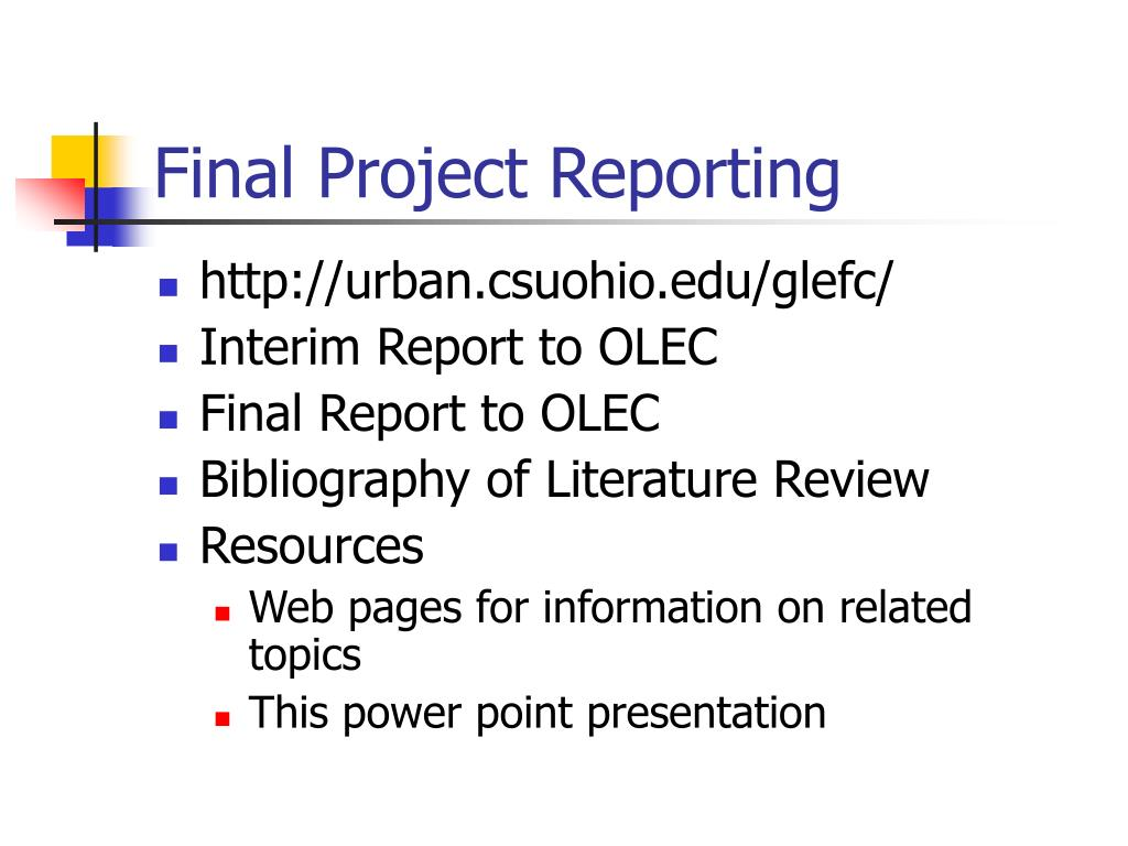Final Project Reporting