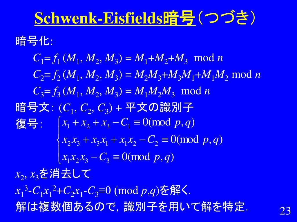 Schwenk-Eisfields