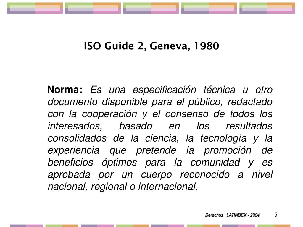 ISO Guide 2, Geneva, 1980