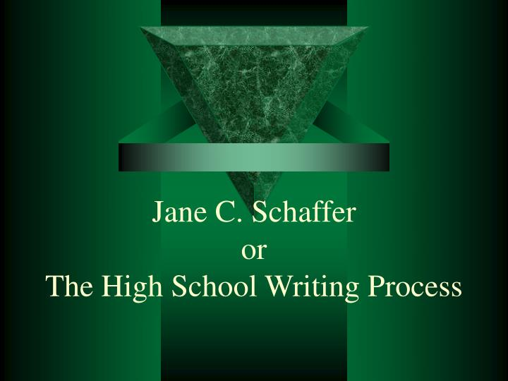 writing essay jane shafer Jane schafer essay format  fact quoted or paraphrased from the piece on which you are writing  jane schaffer essay format author.