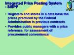 integrated price posting system sispp
