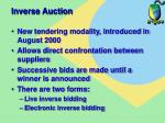 inverse auction