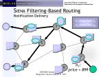 s iena filtering based routing notification delivery