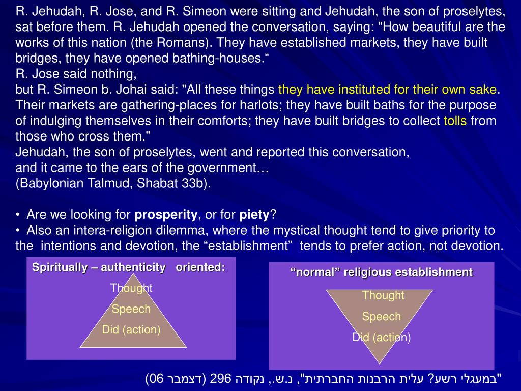 R. Jehudah, R. Jose, and R. Simeon were sitting and Jehudah, the son of proselytes,