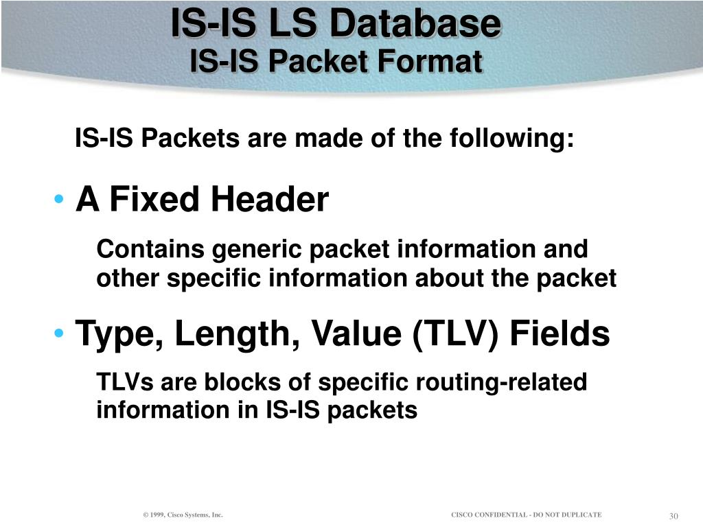 IS-IS LS Database