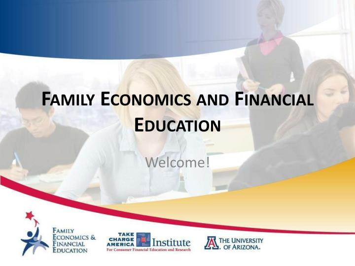 Family economics and financial education l.jpg